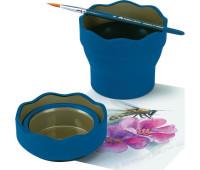 Cтаканчик для воды Clic & Go синий - 181510 Faber-Castell