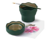 Cтаканчик для воды Clic & Go зеленый - 181520 Faber-Castell 181520