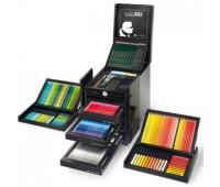 ПОДАРОЧНЫЙ НАБОР 110051 Faber-Castell 482 ШТ. LAGERFELD ART & GRAPHIC KARLBOX - Limited Edition