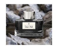 Чернила Graf von Faber-Castell Carbon Black в стеклянной баночке 75 мл, цвет черный карбон, 141000