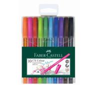 Набор ручек-роллеров Faber-Castell CX Colour 1,0 мм 10 цветов в пенале, 247201