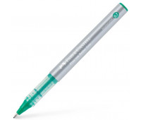 Ручка-роллер Faber-Castell Free Ink цвет чернил зеленый, 0,7 мм, одноразовая, 348163