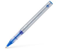 Ручка-роллер Faber-Castell Free Ink цвет чернил синий, 0,5 мм, одноразовая, 348501