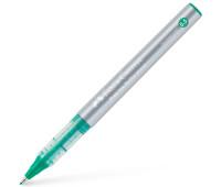 Ручка-роллер Faber-Castell Free Ink цвет чернил зеленый, 0,5 мм, одноразовая, 348504