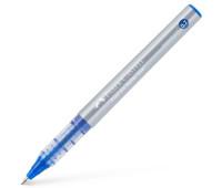 Ручка-роллер Faber-Castell Free Ink цвет чернил синий, 0,7 мм, одноразовая, 348151