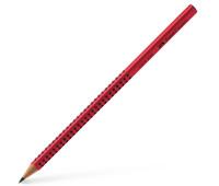 Карандаш чернографитный Faber-Castell Grip 2001 В красный корпус, 517021