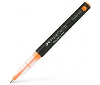 Ручка-роллер Faber-Castell Free Ink цвет чернил оранжевый, 1,5 мм, одноразовая, 348315