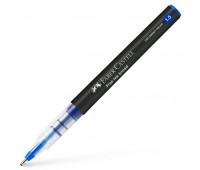 Ручка-роллер Faber-Castell Free Ink цвет чернил синий, 1,5 мм, одноразовая, 348351