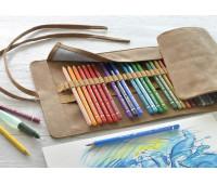 Акварельные карандаши Faber-Castell 117530 30 цв Albrecht Durer в тканевом пенале ролл