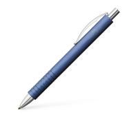 Ручка шариковая Faber-Castell Essentio Aluminium алюминиевая, синий корпус, 148426