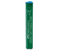 Грифель для механического карандаша Faber-Castell Polymer В (0,7 мм), 12 штук в пенале, 521701