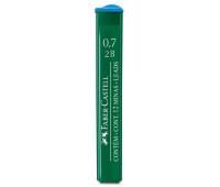 Грифель для механического карандаша Faber-Castell Polymer 2В (0,7 мм), 12 штук в пенале, 521702