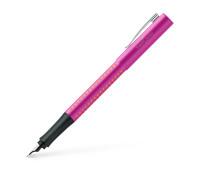 Ручка перьевая Faber-Castell GRIP 2010 корпус розовый, перо F, 140924