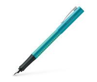 Ручка перьевая Faber-Castell GRIP 2010 корпус бирюзовый, перо F, 140926