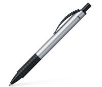 Ручка шариковая Faber-Castell Basic Ballpoint Pen, корпус алюминиевый, 143411