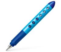 Ручка перьевая школьная Faber-Castell Scribolino School для левшей, корпус голубой, 149849