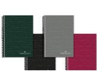 Блокнот / тетрадь в клеточку Faber-Castell Classic формат A4 на спирали, 80 листов, 400116