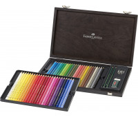 Набор цветных карандашей Faber Castell 110006 POLYCHROMOS 48 + аксессуары
