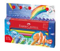 Карандаши цветные Faber-Castell Jumbo Grip 8 цветов 110908