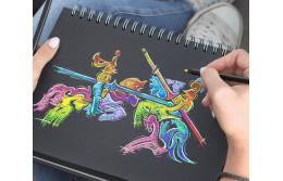 Цветные карандаши Faber-Castell Black Edition