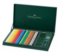 Карандаши цветные Faber-Castell POLYCHROMOS 20 цветов 210051