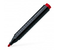 Маркер перманентный Faber-Castell GRIP 1504 красный, 150421