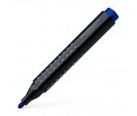 Маркер перманентный Faber-Castell GRIP 1504 синий, 150451