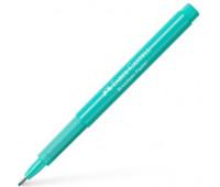 Капиллярная ручка Faber-Castell BROADPEN 1554 Pastel Turquoise, цвет пастельный бирюзовый, 0,8 мм, 155457