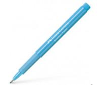 Капиллярная ручка Faber-Castell BROADPEN 1554 Pastel Light Blue, цвет светло-голубой, 0,8 мм, 155458
