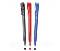 Ручка Faber-Castell шариковая дисплей 30 шт speedx 0,5 мм гелевая ассорти (синий, черный, красный) 541000