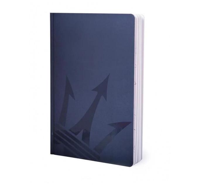 Блокнот из каменной бумаги Pininfarina Maserati Notebook Stone Paper, обложка синяя  А5, 128 стр. в линию
