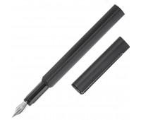 Ручка перьевая Pininfarina PF ONE Fountain Black, F, метал черный