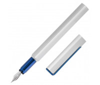Ручка перьевая Pininfarina PF ONE Fountain Bicolor, F, метал, цвет серебро с голубым