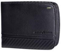 Горизонтальное портмоне на 6 карт Wallet 6 Card Folio by Pininfarina, цвет черный с карбоном