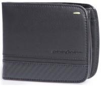 Мужское портмоне Wallet 3 Card and Coins Folio by Pininfarina, цвет черный с карбоном