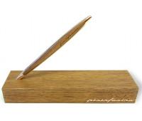 Вечный карандаш Pininfarina Cambiano Luxury - Gold, позолоченный, вставка грецкий орех