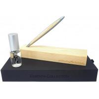 Вечный карандаш Pininfarina Cambiano Essentia, алюминиевый + вставка ель