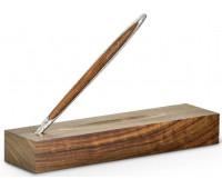 Вечный карандаш Pininfarina Cambiano Silver Luxury Edition, серебро, древесина грецкий орех