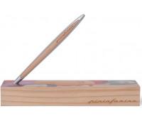 Вечный карандаш Pininfarina Cambiano Raphael Urbinas 500TH, алюминиевый + вставка кедр
