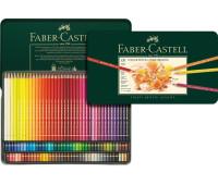 Цветные карандаши Faber Polychromos 120 цв металл.коробка - 110011