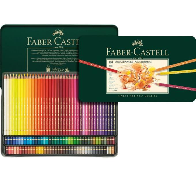 Цветные карандаши Faber-Castell Polychromos 120 цв - 110011