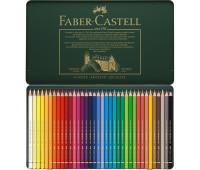 Цветные карандаши Faber-Castell Polychromos 36 цв металл.коробка - 110036