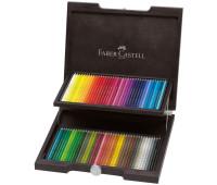 Цветные карандаши Faber Polychromos 72 цв дерев.коробка 110072