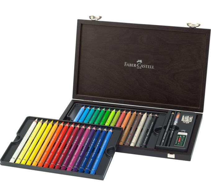 Акварельные карандаши Faber-Castell 30 единиц  + аксессуары ALBRECHT DURER MAGNUS 116900