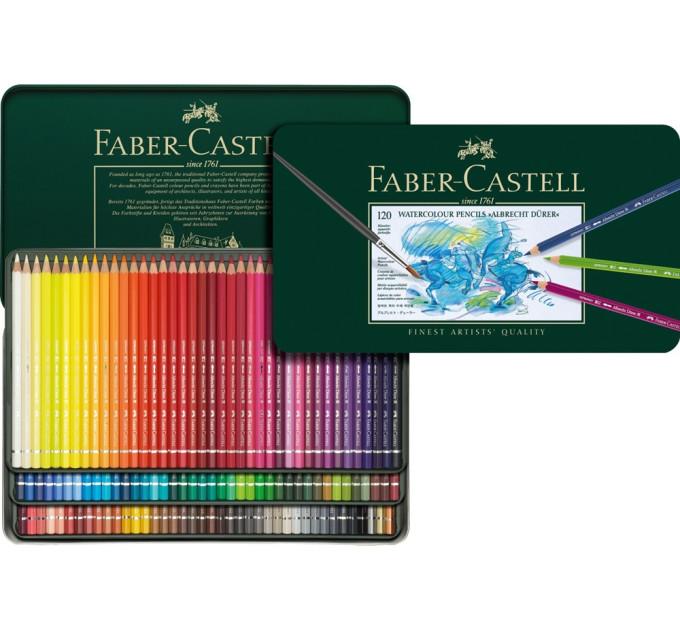 Акварельные карандаши Albrecht Durer 120 цв металлическая коробка 117511