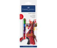 Акрил Faber-Castell 12 цв creative studio в тубах по 12 мл 169501