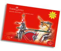 Альбом для рисунка Faber-Castell 35х50 см 15 листов 120/м2 400035