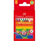 Мел Faber-Castell 16 цв 75мм воск 120050