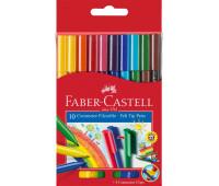 Фломастеры Faber-Castell 10 цв connector в картонной упаковке - 155510