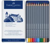 Карандаши акварельные Faber-Castell Goldfaber Aqua 12 цветов 114612
